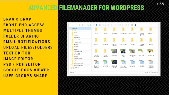File Manager Plugin For WordPress 6