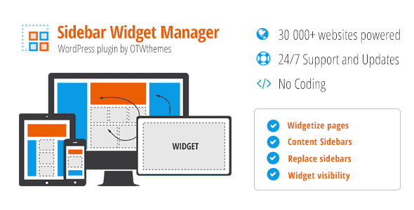 Sidebar & Widget Manager for WordPress 10