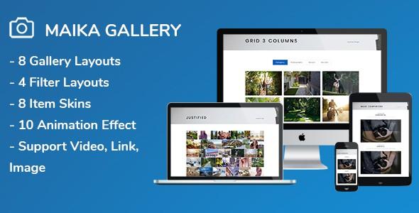 Maika - Gallery Plugin for WordPress 7
