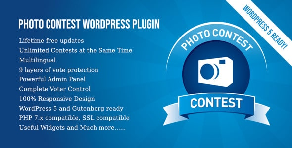 Photo Contest WordPress Plugin 1