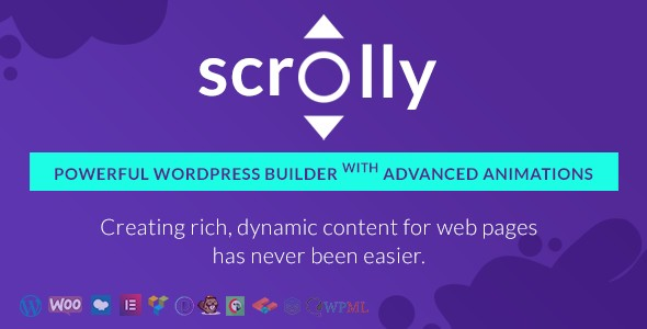 Scrolly - WordPress Builder with Advanced Animations 3